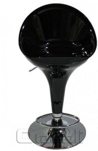 Стул барный Sx-1226 Пластик черный A9205