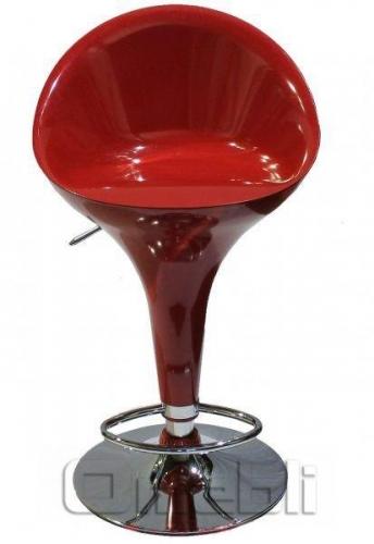 Стул барный Sx-1226 Пластик красный A9207