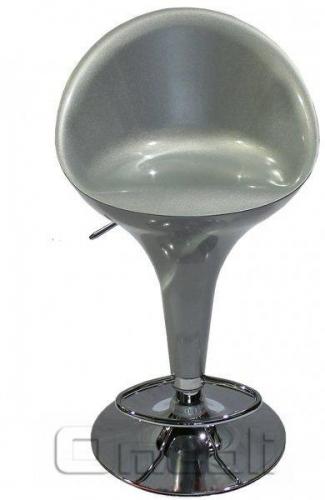 Стул барный Sx-1226 Пластик серебряный A9208