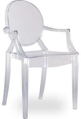 Стул Дорис с подлокотниками, качественный пластиковый стул Дорис