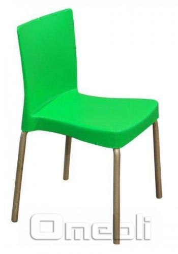 Стул Корсика PL Пластик зеленый A9607