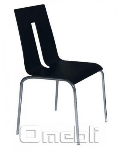 Стул Порто алюм черный A9502