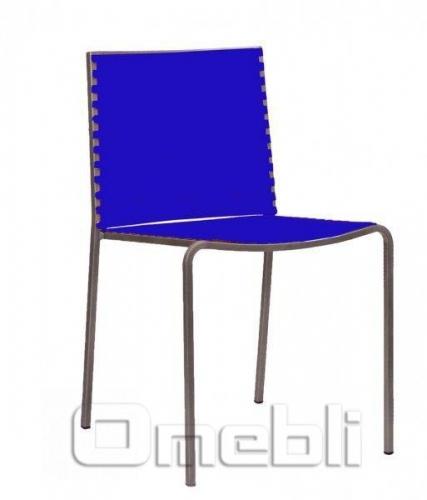 Стул Санта-Фе Пластик синий A9225