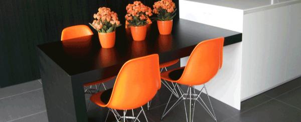 Стул Тауэр, оранжевый цвет