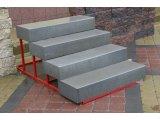Фото  2 Ступень бетонная прессованная (цвет на сером цементе) 2940763
