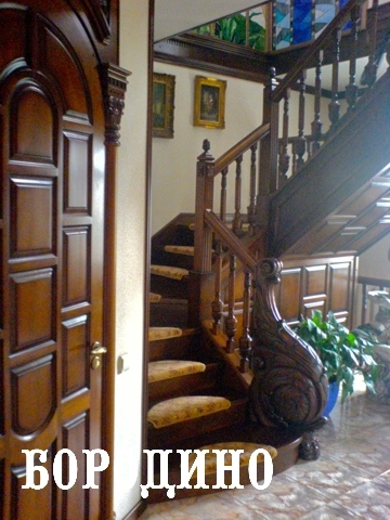 Ступени и лестницы - сосна, ольха, дуб - 20, 40 мм