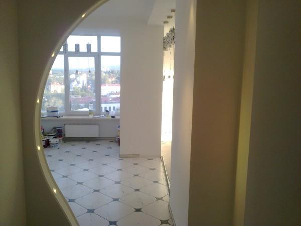 стяжка(тепла підлога)