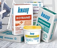 Сухие строительные смеси в ассортименте от известных производителей: Knauf, Ceresit, Scanmix, Артисан, Mapei