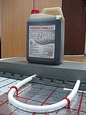 Суперпластификатор для бетона и растворов, для теплого пола