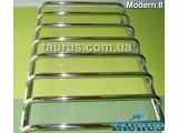 Фото  1 Сушилка для полотенец Modern 8/ 850х450 из н/ж стали круглая труба 20 на П-образных перемычках; Круглая стойка 2396393