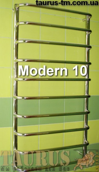 Сушка для полотенец Modern 10 /500 мм. Изготовлена из нержавеющей стали. Покраска.