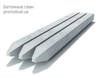 бетонные сваи - фото