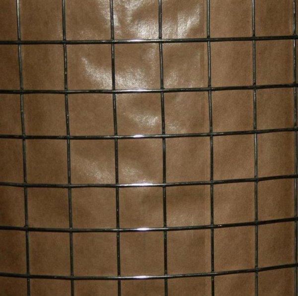 Фото  1 Сетка сварная 25х25 дм.1,7мм рулон 1х30м. СПО - сварена, потом оцинкованная 2151611