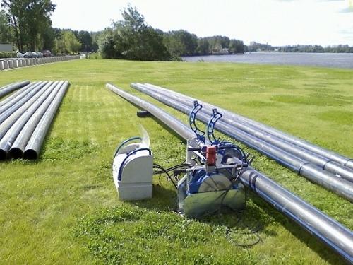 Сварка полиэтиленовых трубопроводов для водоснабжения