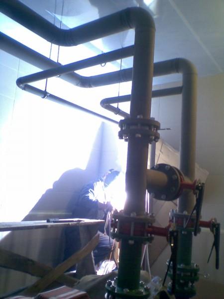 Сварка трубопроводов. Монтаж труб систем отопления, водопровода, пожаротушения.