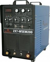 Сварка в среде аргона Mishel ZX7 WSEM 200 AC/DC