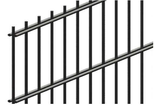 сварные 2D панели Секция: длина 2500, ячейка 50*200 (мм)
