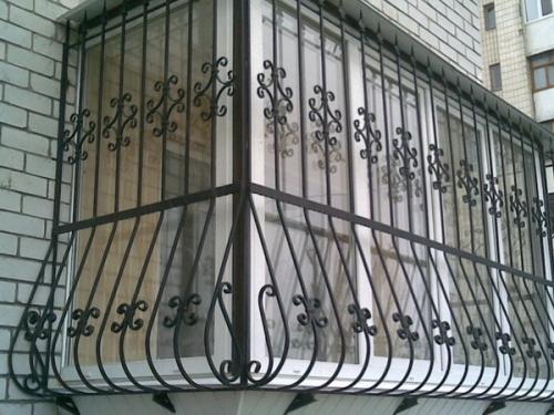 Сварные решетки с готовых кованых элементов /от 250 грн. /кв. м.