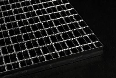 сварной решетчатый настил с дполнительным прутом