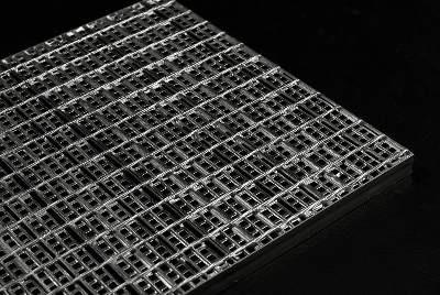 сварной решетчатый настил security mesh(SM)