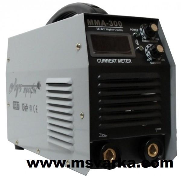 Сварочный аппарат инверторного типа Луч Профи MMA 300 I