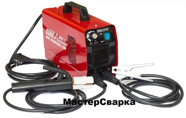 Сварочный аппарат инверторного типа «ТЕМП» ММА-210
