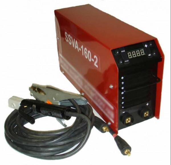 Сварочный инвертор SSVA-160Т (TIG-сварка)