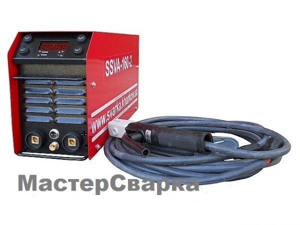 Сварочный инвертор ( ССВА ) SSVA-160-2 плюс аргон