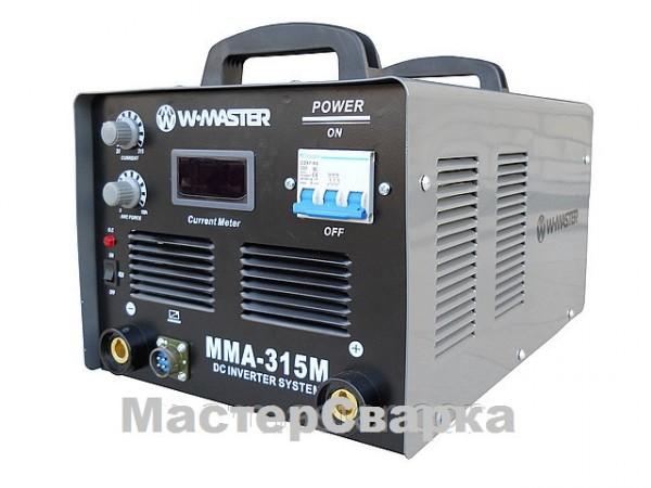 Сварочный инвертор W-MASTER MMA-315М