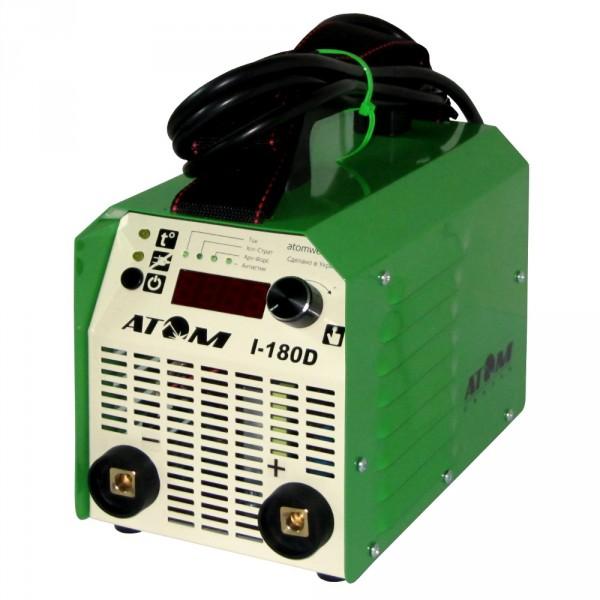 Сварочный инверторный аппарат Атом I-180D без кабелей, без байонетов