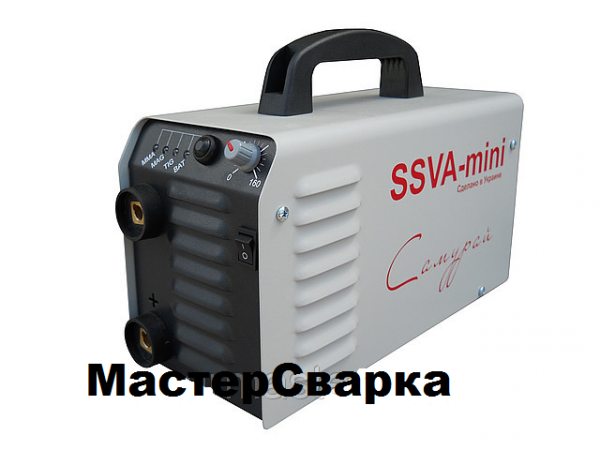 Сварочный инверторный аппарат SSVA MINI-160 САМУРАЙ