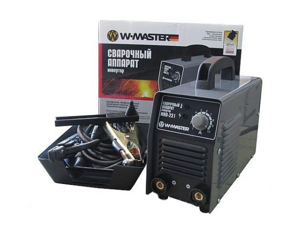 Сварочный инверторный аппарат WMaster MMA 251