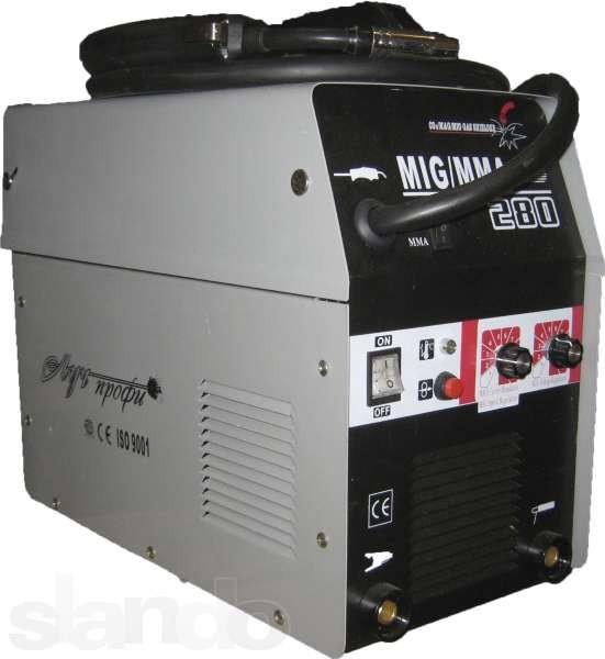 Сварочный инверторный полуавтомат Луч Профи 280 ММА
