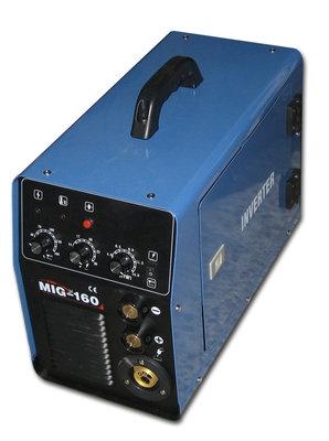 Сварочный полуавтомат MIG-160i В комплекте с горелкой и кабелем массы.