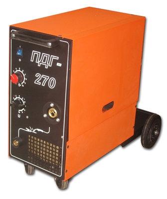 Сварочный полуавтомат ПДГ-270 В комплекте с горелкой и кабелем массы.