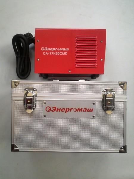 Сварочный инвертор Энергомаш СА-97И20СМК