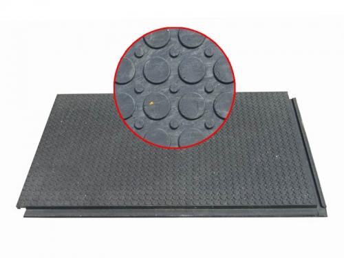 Сверхпрочное напольное покрытие - плита ПВХ с металлической крошкой КОД 106