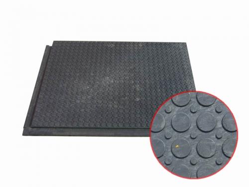 Сверхпрочное напольное покрытие - плита ПВХ с металлической крошкой КОД 109