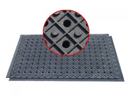 Сверхпрочное напольное покрытие - плита ПВХ с металлической крошкой КОД 113А