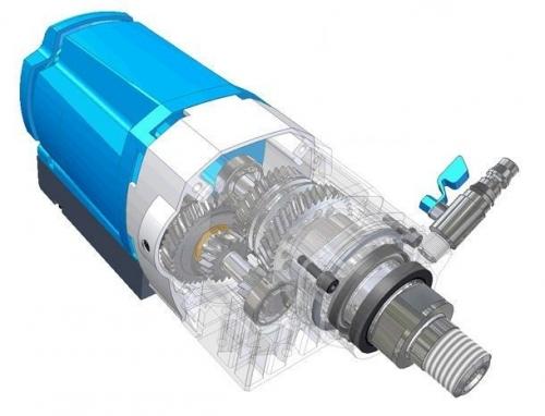 Сверлильная установка TS 403/2231 для сверления бетона.