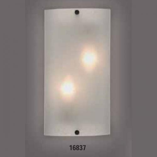 Светильник бра 219440 ELT 1х60W E27 220VОснование металл белый, плафон стекло матовое. Размер, мм:320х170