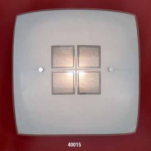 Светильник бра 40015E ELT 2х60W E27 220VОснование металл белый, плафон стекло матовое с рисунком. Размер, мм:330x330