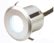Светильник светодиодный точечный/Габариты D50х50ммКорпус Алюминий стекло. IP54  1Вт DC 12В.