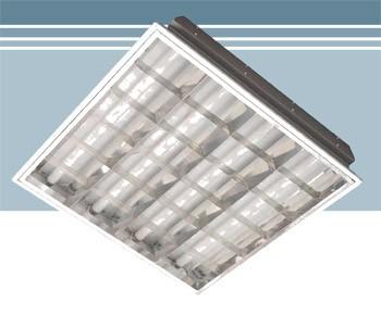 Светильник VALTONIX АЛБЕС растровый встраиваемый 4*18w (ЭлектронныйПРА)в подвесные потолки 600*600мм