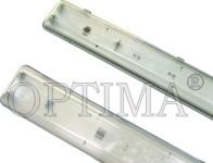 Светильники люминесцентные промышленные ЛПП IP65 2х18