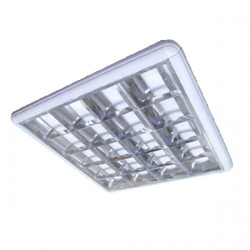 Светильники растровые 4х18 накладные