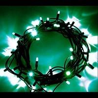 Светодидная световая цепочка LED String Light 120-12M 12м зеленая