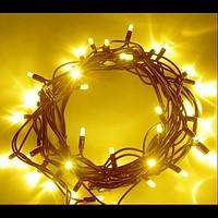 Светодидная световая цепочка LED String Light 120-12M желтая