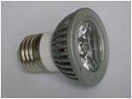 Светодиодная лампа с цоколем Е27 3W Яркость ЛМ 120-140, Угол свечения 60, Потребляемая мощность 3Вт, Размер 50*73мм