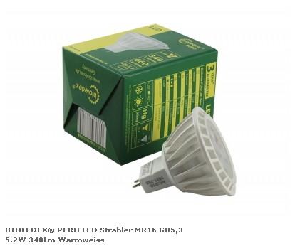 Светодиодная лампа серии BIOLEDEX PERO 5,2Вт 340Лм 3000K 12V